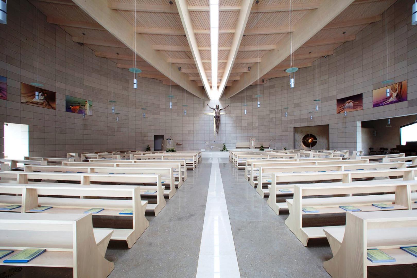 Chiesa di Sant'Alessandro Grassobbio interni