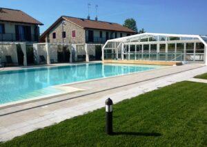 Marmo Grolla utilizzato per piscina centro benessere Treviso