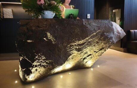 Piani di lavoro in basalto Chottomatte