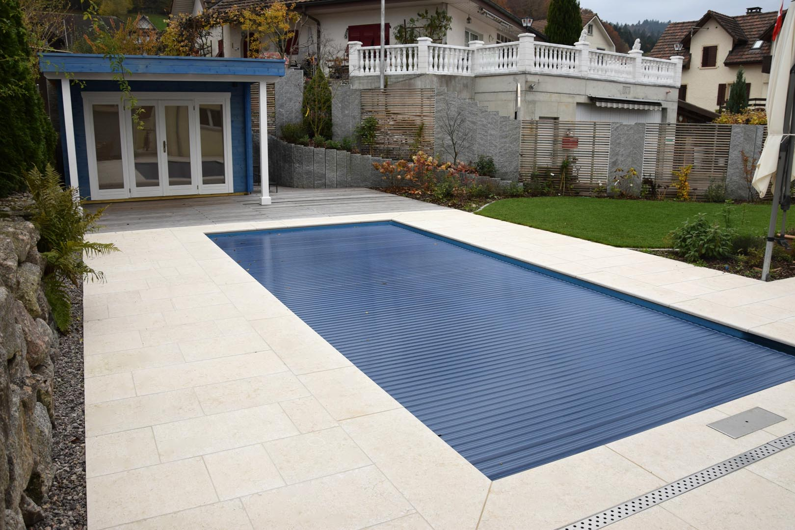 piscina privata germania grolla beige fiammato