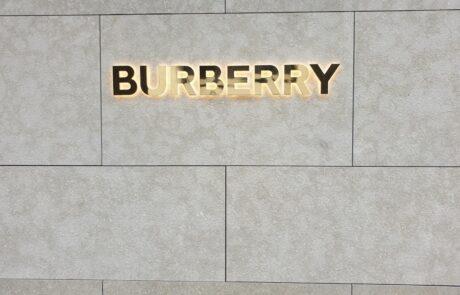 retail negozio burberry stati uniti